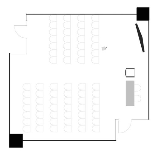 Room 613, theatre for 70